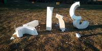 Destrozan las letras de 'Soria' tras el nacional de Cross