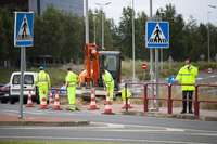 La rotonda de Los Lirios se cortará 10 días para peatones