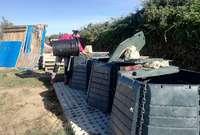 Brañosera, Husillos y Dueñas, con el compostaje