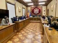 Diputación y hosteleros abordan la implementación de ayudas