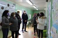 Calzada acoge un aula móvil para caminar hacia la igualdad