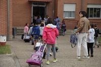 Vuelve la educación presencial a 41 con más de 400 alumnos