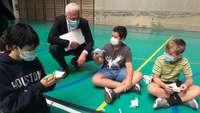 El CC Parque Rioja organiza un campamento infantil solidario