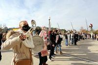 Manifestación de la Asociación de Empresarios de Hostelería de Valladolid