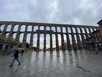 Previsión de tormentas en Segovia para el lunes 25