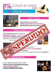 Socuéllamos aplaza actos culturales por el brote de COVID-19