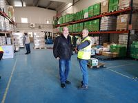 50.000 kilos de alimentos por parte del Gobierno para Soria