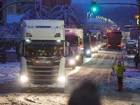 La nieve y la niebla complican el tráfico por la provincia