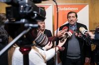 Valladolid y Madrid decidirán la posición de Cs en Burgos
