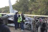 Mueren 26 personas en un accidente de avión en Ucrania
