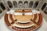 Hemiciclo del Parlamento de La Rioja.