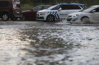 Aviso por lluvias y granizo en la Ibérica de Burgos