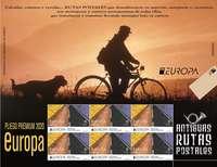 Viajes por las rutas de los sellos 'Europa'