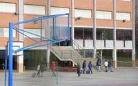 Interior de un colegio