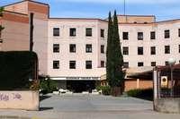 Residencia de mayores de la Junta en el barrio vallisoletano de Parquesol.