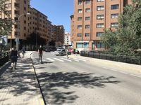 Una de las zonas en donde el carril bici no tiene un trazado claro