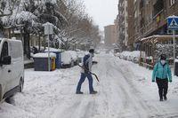 Filomena deja una gran nevada