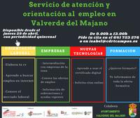 Valverde crea un servicio de orientación al empleo