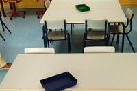 Educación pone en cuarenta un aula de Valdestillas