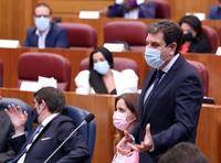Barcones critica el lloriqueo de la Junta con los fondos UE