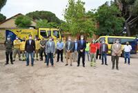 155.000 euros en la mejora de la base del retén de Almorox
