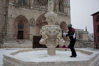 Diversión con la nieve de 'Filomena'