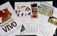 Los calendarios están a la venta en la tienda de Salgüero y la web de Paleolítico.