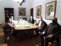 Diputación y Medina se unen en pos del Corredor Atlántico