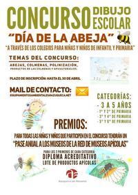 Cartel promocional del concurso de dibujo.