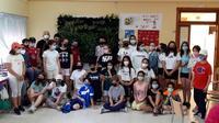 Los alumnos del Gregorio Marañón crean un jardín vertical