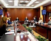Isabel Blanco preside el Consejo Regional de la Mujer que se celebró en la Casa del Sello de Segovia.