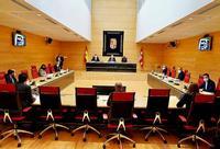 Reunión de la Junta de Portavoces de las Cortes para preparar la sesión plenaria de la próxima semana.