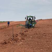 Comienzan los trabajos de plantación para el Aula Agrícola