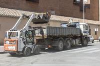 Imagen de archivo de obras de asfaltado, solicitadas por varios ayuntamientos.