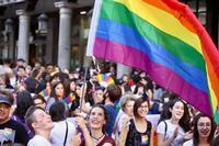 Imagen de archivo de una manifestación en el Día del Orgullo LGTBI.