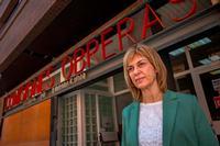 Carmen Juste, secretaria provincial de Comisiones Obreras en Albacete.