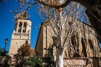 La iglesia de Alcocer es conocida como 'La Catedral de La Alcarria'.