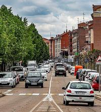 Avenida de Madrid, en Laguna de Duero.