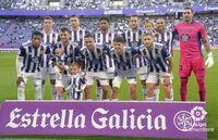 Imágenes del Real Valladolid-Ibiza