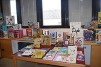 Espacio dedicado al programa 'Cuento Contigo' en la Biblioteca Municipal.