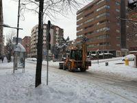 LImpieza de calles en Soria