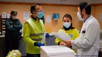 Inicio de las vacunaciones en Centro de Salud de Miguelturra