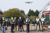 El Ayuntamiento presenta la Unidad de Drones de la Policía Municipal de Valladolid