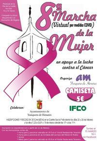 Cartel de la Marcha de la Mujer de Yunquera.