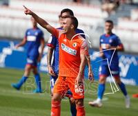 Sufrido empate del Burgos CF en Lezama