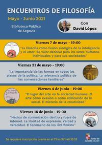 Actividades Biblioteca Pública de Segovia