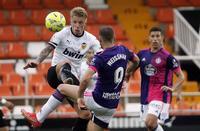 Imágenes del Valencia-Real Valladolid