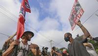 Grupos supremacistas convocan una ola de manifestaciones en EEUU
