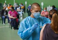 Jornada de vacunación  masiva en Ciudad Rodrigo (Salamanca)