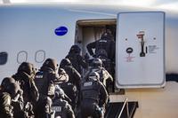 Los GEOS en las prácticas ATLAS de la Interpol en el Aeropuérto de Ciudad Real